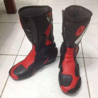 正義大利 SIDI B2~ FUSION 賽車靴系列 US8.5 EUR42 JAP26.5 UK8