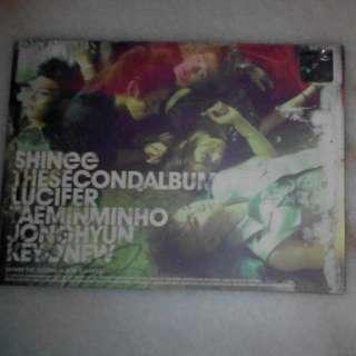 [MARKDOWN] SHINee The Second Album (LUCIFER)