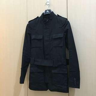 已降價 Dior Homme 07ss Safari 風衣 限量黑
