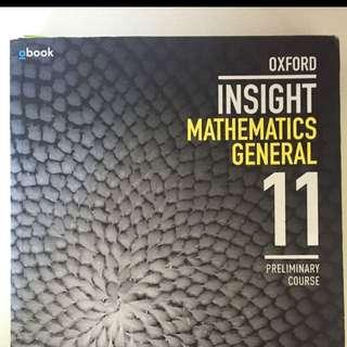 Preliminary Math General