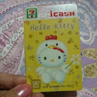 限量賀年 icash kitty卡