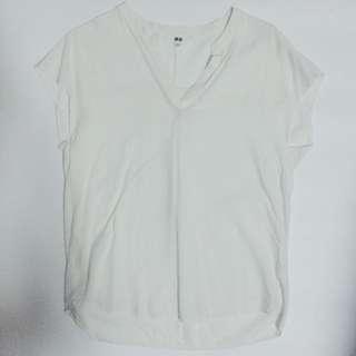 Uniqlo Blouse in Off-White