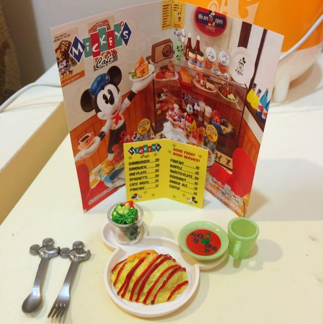 迪士尼50's Cafe 盒玩
