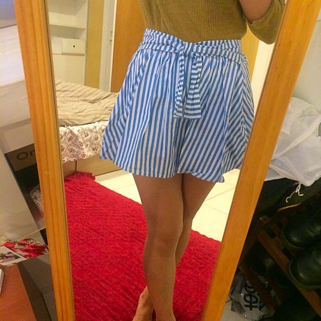 韓國購入綁帶短裙