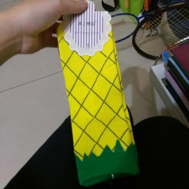 全新 鳳梨襪子✨