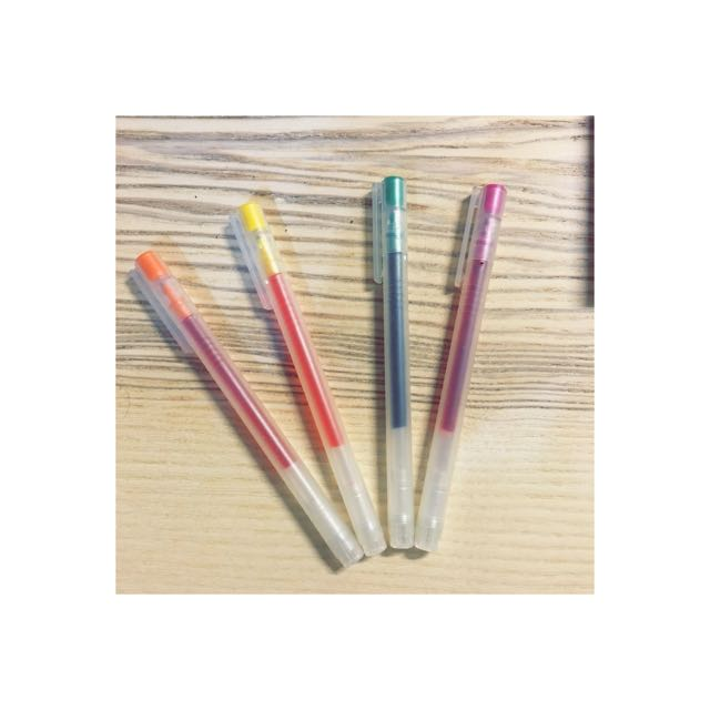 無印良品 四色筆