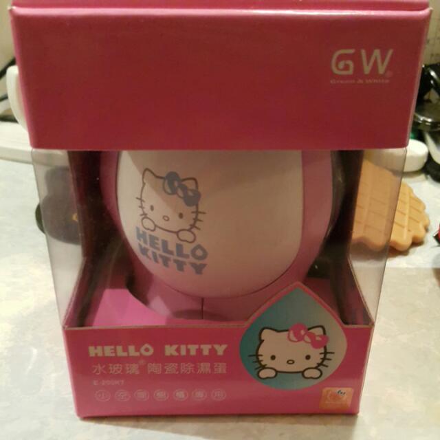 Hello Kitty 水玻璃 陶瓷除濕蛋 全新 300元含運