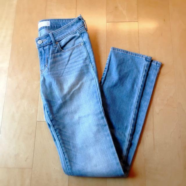 Abercrombie&Fitch 牛仔褲 25腰