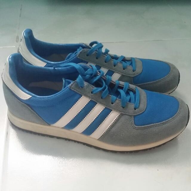 Adidas Blue Suede