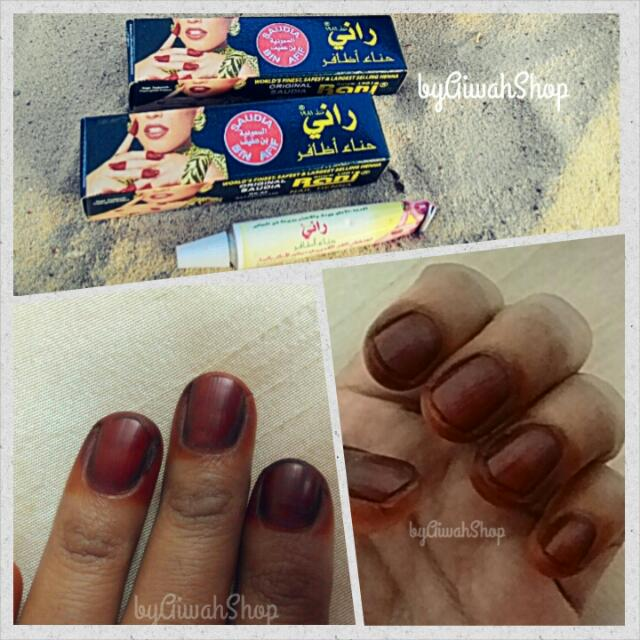 Original Henna Nail Rani Arab Saudi Health Beauty On Carousell