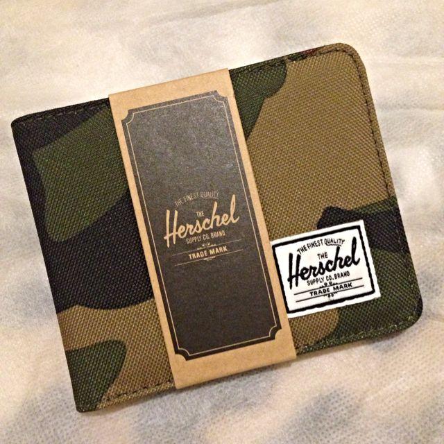 Herschel Hank 短夾 迷彩經典