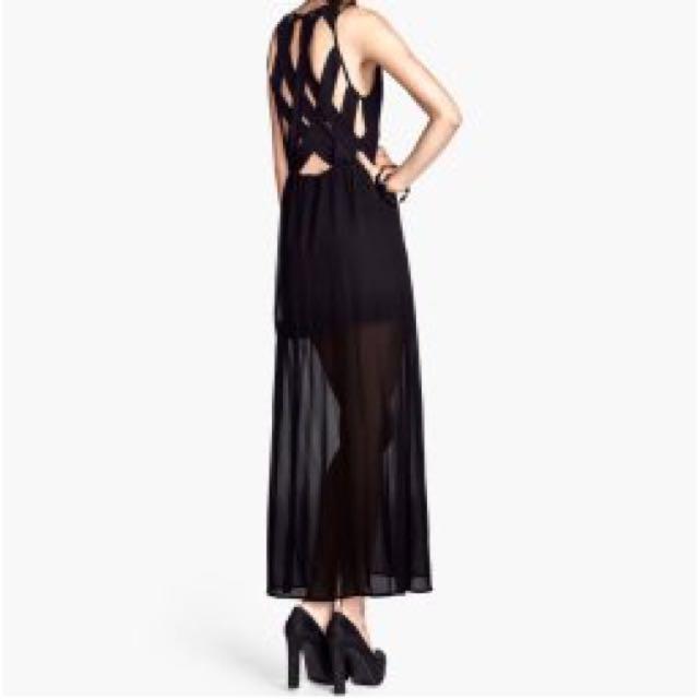 H&M Cutout Maxi Dress