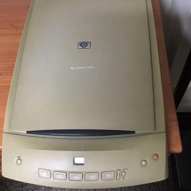 HP 5400c Scanjet Scanner Electronics On Carousell