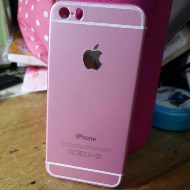 I5/5S 粉紅色手機殼