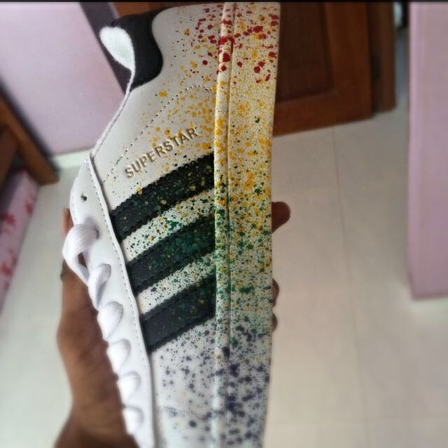 INSTOCK ADIDAS SUPERSTAR PRIDE PACK, Men's Fashion on Carousell