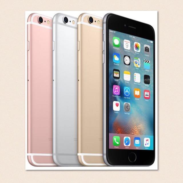 全新#未拆封iPhone 6s 64g 玫瑰金