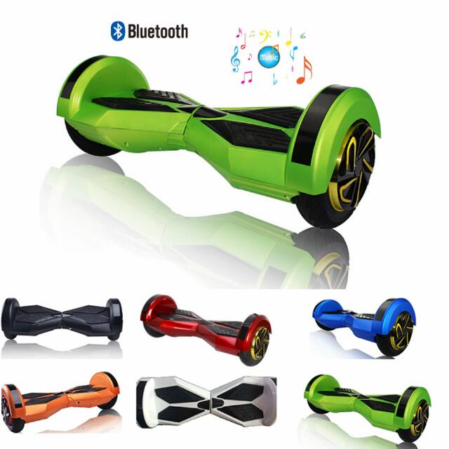 L.E.D. HOVERBOARDS WITH BLUETOOTH