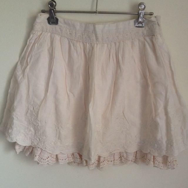 Pink Forever New Skirt