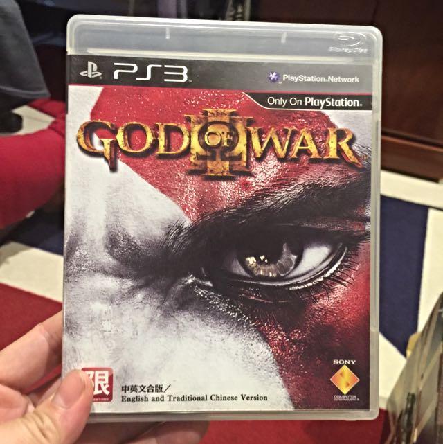 PS3 繁體中文版 戰神3