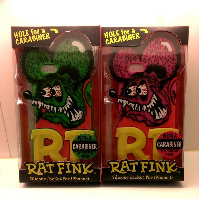 RAT FINK RF芬克老鼠立體iPhone 6 & 6S手機保護殼