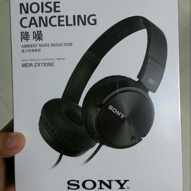 Sony MDR ZX110NC Noise cancelling headphones