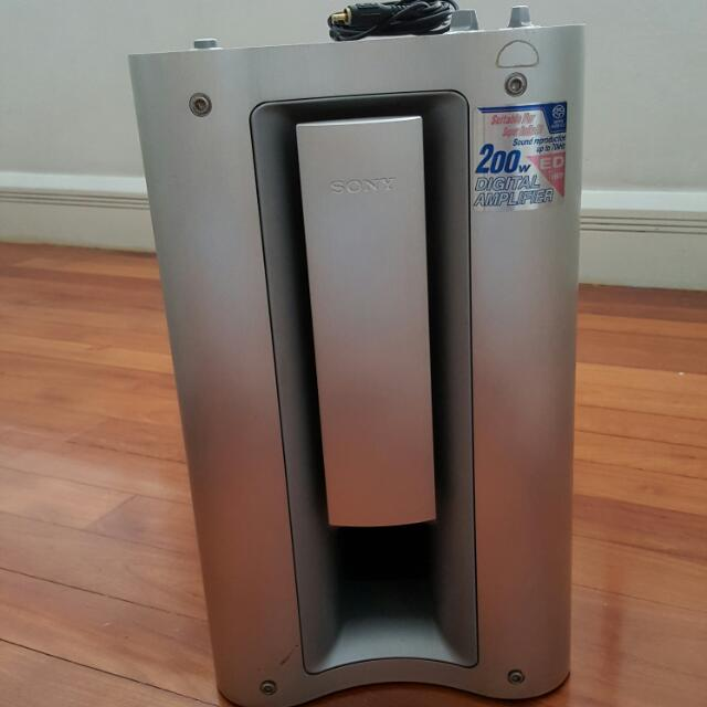 Sony SA-WM835 200W Active Subwoofer (Pre-Owned) (Reserved