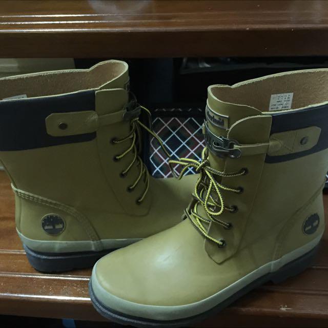 Timberland雨靴