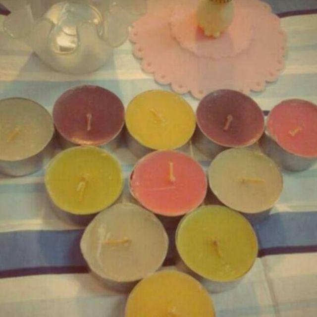 香氛系列WORKING HOUSE 11入精油蠟燭+燭台