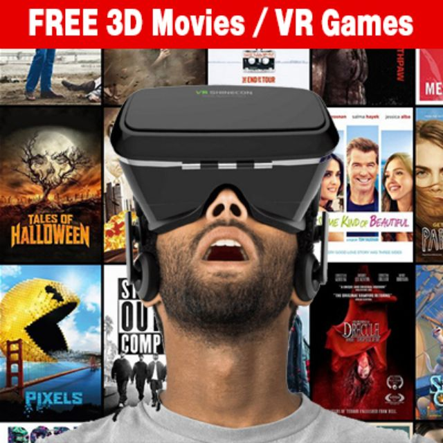 Chinese New Year Promotion!! VR Head Mount Goggles for 3D movies and  Virtual Reality games - Free App ( Samsung Gear )