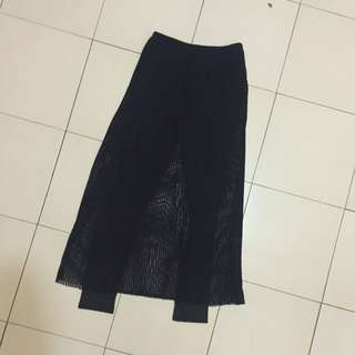 假兩件式 造型黑裙