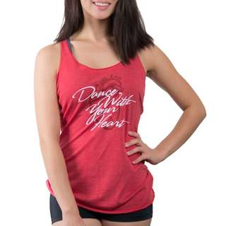BNWT Covet Dance Wear Dance With Your Heart Tank