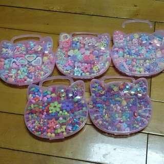 (含運+送DIY手作包) 兒童DIY手工串珠 手作玩具