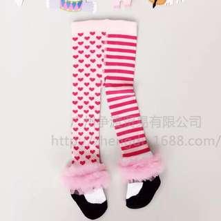 不對稱褲襪