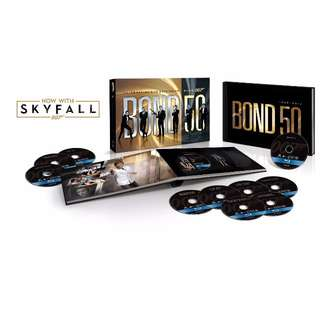 James Bond Limited Edition - Bond 50: The Complete 23 Film Collection with Skyfall Blu-ray