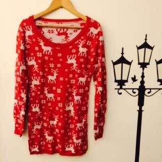 聖誕麋鹿毛衣