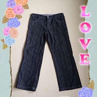 昂貴的麗嬰房童裝-百分百純棉牛仔褲