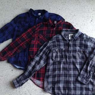 Plaid Flannels