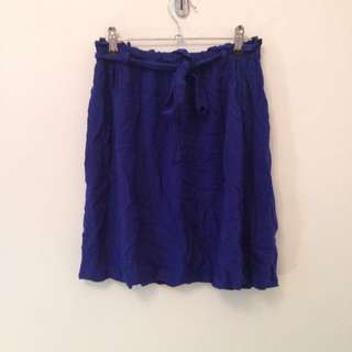 Drawstring Skirt Sz 8 New Look