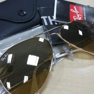100% Authentic Ray Ban (Brand New)- Aviator Large Metal, Price Nego-able