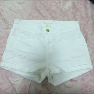 H&M白色短褲