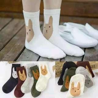 Fox Themed Socks (Preorder)