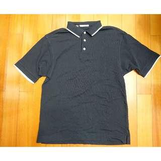 美國品牌 CUTTER&BUCK Polo衫 黑色 白邊