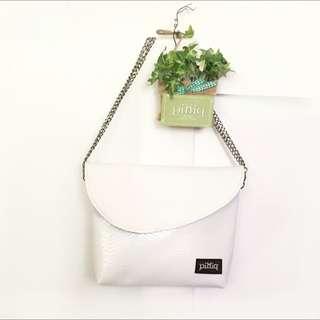 自創品牌Piniq 新款 👋純手工👋白色聖誕款
