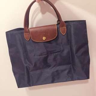 [已保留]Longchamp 短柄M號大方包