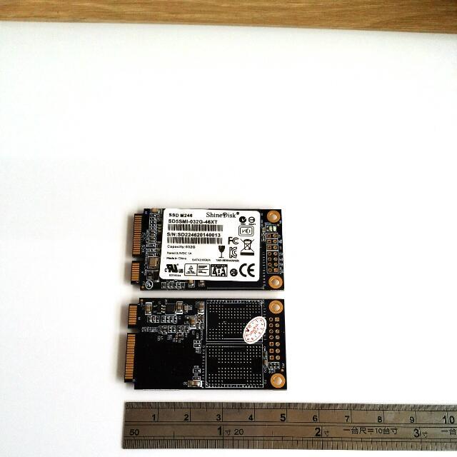 32g mini ssd mSATA 固態硬碟