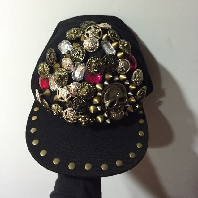 韓版骷顱頭帽