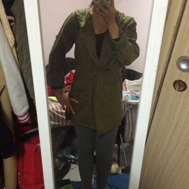 二手 墨綠外套 含運