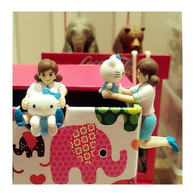 【售】杯緣子 橫濱限定Kitty 緣子~ 《2款合售~不拆賣喔~》