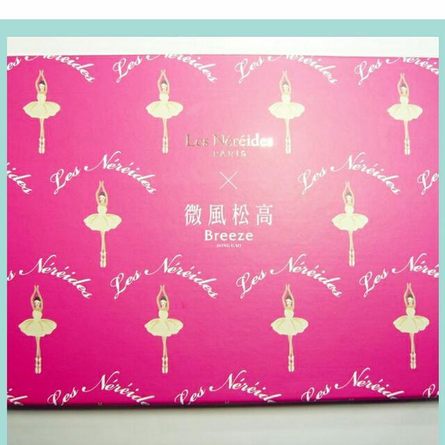 【售】法國知名品牌 Les Nereides 👉微風松高聯名芭蕾女伶精美筆記本