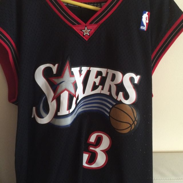 Allen Iverson Jersey Brand New. Too Big